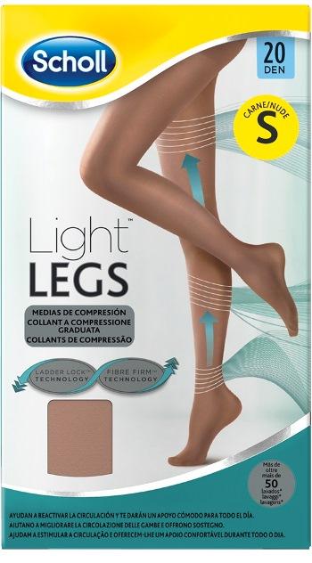 Scholl Lightlegs 20 Denari Taglia S Colore Nude 1 Paio