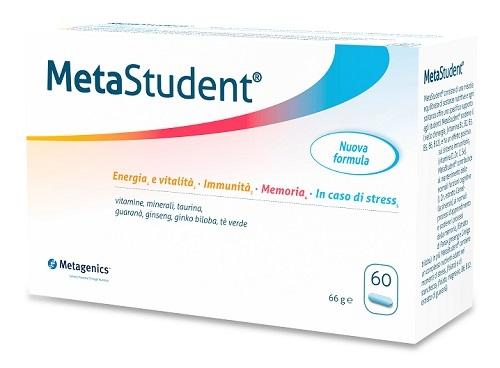 Metagenics Belgium Bvba Metastudent 60 Capsule