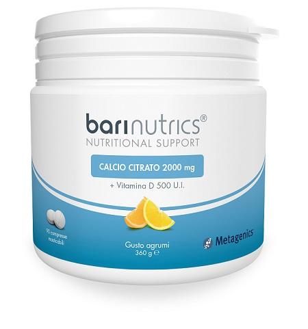 Barinutrics Calcio Citrato Arancia Limone Ita 90 Compresse