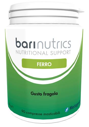 Metagenics Belgium Bvba Barinutrics Ferro Fragola Ita 90 Compresse