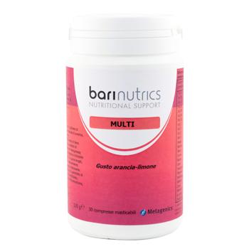 Metagenics Belgium Bvba Barinutrics Multi Arancia Limone Ita 30 Compresse