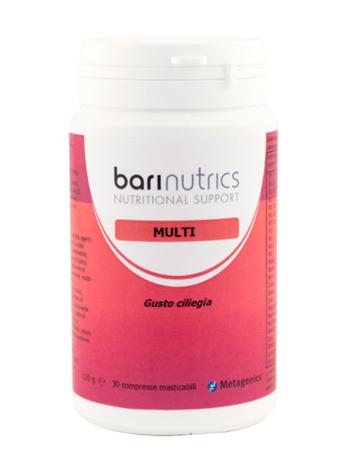 Metagenics Belgium Bvba Barinutrics Multi Ciliegia Ita 30 Compresse