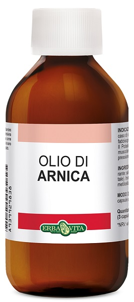 Erba Vita Group Arnica Olio 100 Ml