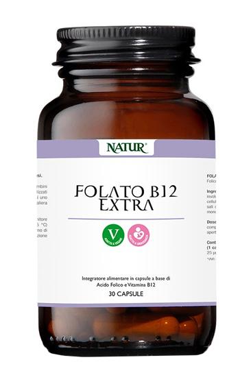 Natur Folato B12 Extra 30 Capsule