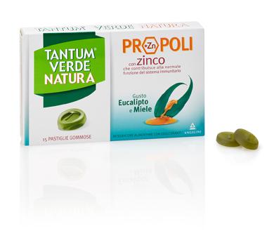 Angelini Tantum Verde Natura Pastiglie Gommose Eucalipto & Miele 30 G