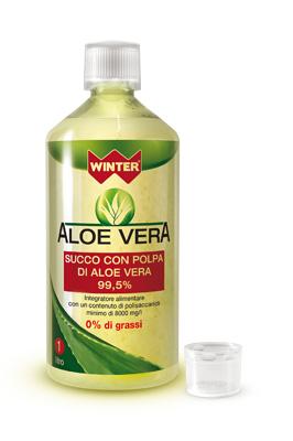 Gdp general Dietet.pharma Winter Aloe Vera Succo E Polpa 1 Litro