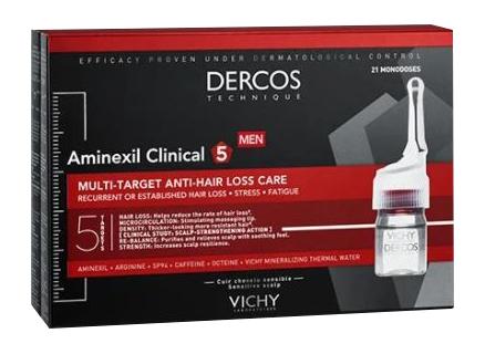 Vichy (l oreal Italia) Dercos Aminexil Fiale 42 Uomo 6 Ml