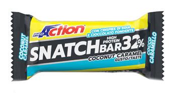 Proaction Snatch Bar 32% Barretta Al Cocco-caramello 60 G