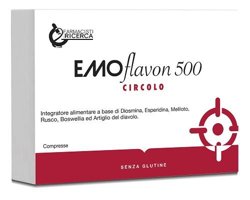 Ubifarma Lab.ricerc. Biochimiche Fpr Emoflavon 500 30 Compresse