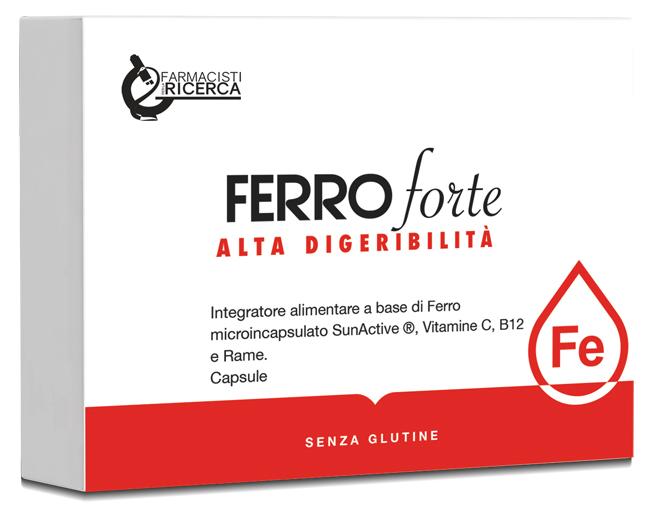 Ubifarma Lab.ricerc. Biochimiche Fpr Ferro Forte 30 Capsule