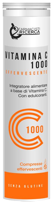 Ubifarma Lab.Ricerc.Biochimiche Vitamina C 1000 20 Compresse Effervescenti