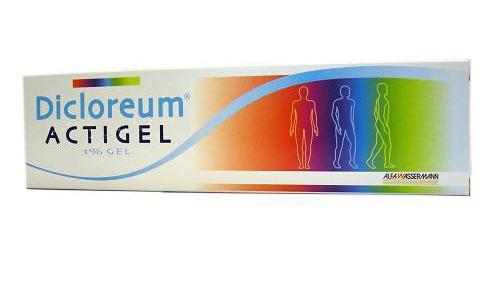 Dicloreum Actigel 1% Gel Tubo Da 50 G