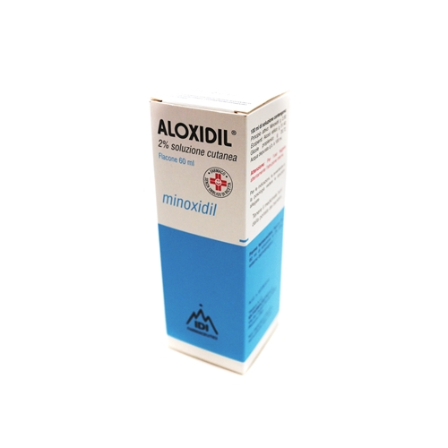 Aloxidil 20 Mg/Ml Soluzione Cutanea 1 Flacone Da 60 Ml