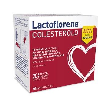LACTOFLORENE COLESTEROLO 20 bust