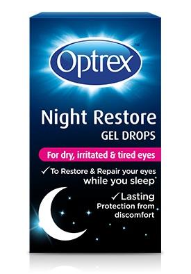 GEL OCULARE OPTREX NIGHT REPAIR COLLIRIO GEL 10 ML